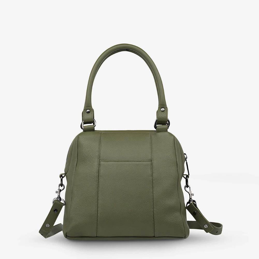 Status Anxiety Last Mountains Khaki Bag
