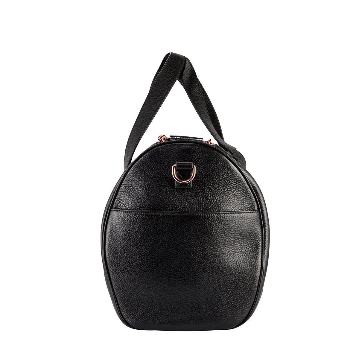 end view of status anxiety deep end handbag