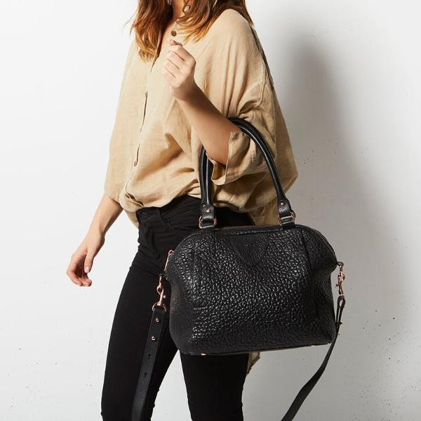 New Status Anxiety Force Of Being Bubble Leather Bag NZ Stockist
