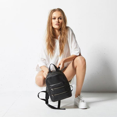 Status Anxiety | Racketeer Bag BLACK