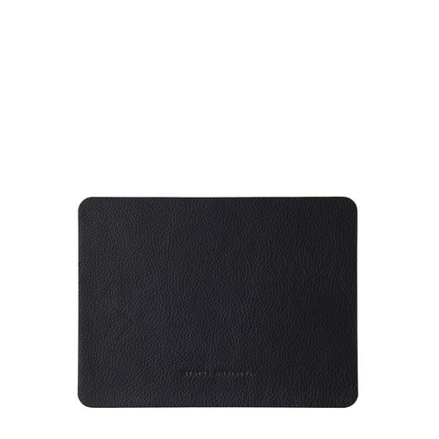 Status Anxiety | Leather Mouse Pad BLACK