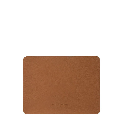 Status Anxiety | Leather Mouse Pad NATURAL