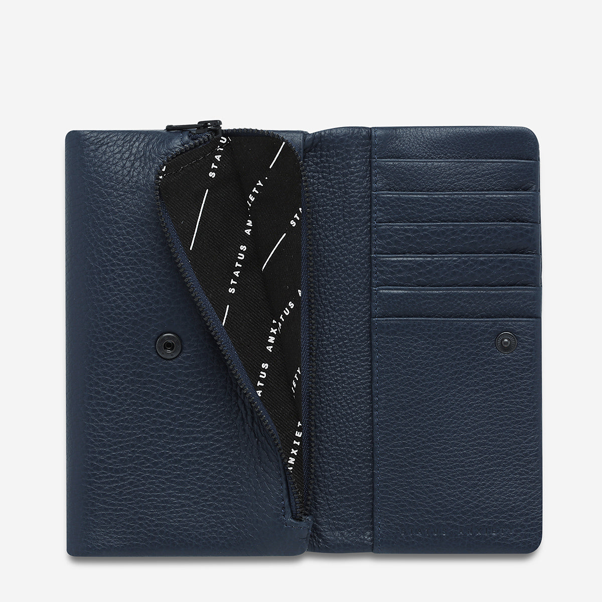 Status Anxiety | Audrey PEBBLE NAVY