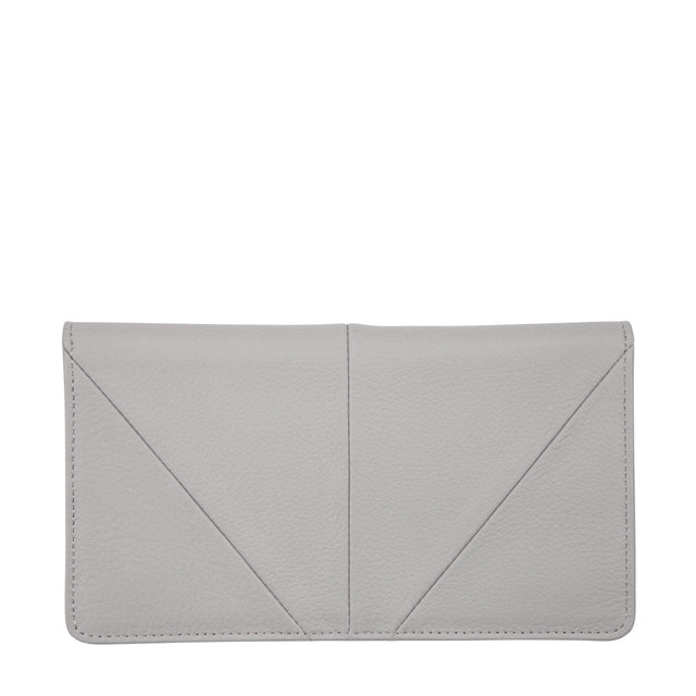 Triple threat wallet status anxiety grey