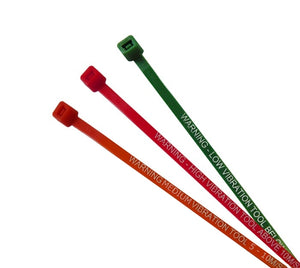 Vibration Warning Cable Tie - (300 x 4.8mm) Supplied in packs of 100