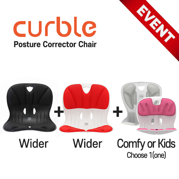 Curble Chair [Posture Corrector] 2
