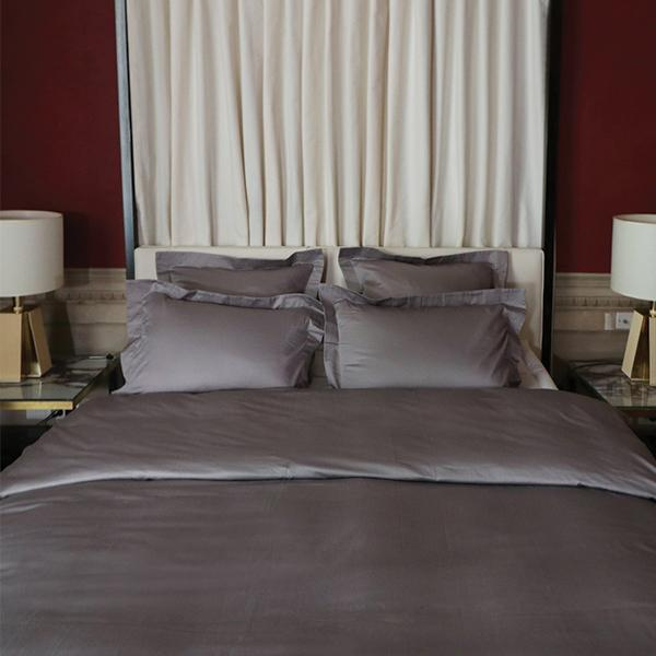 Duvet Cover Set Sopor Collection, Gray (QUEEN)
