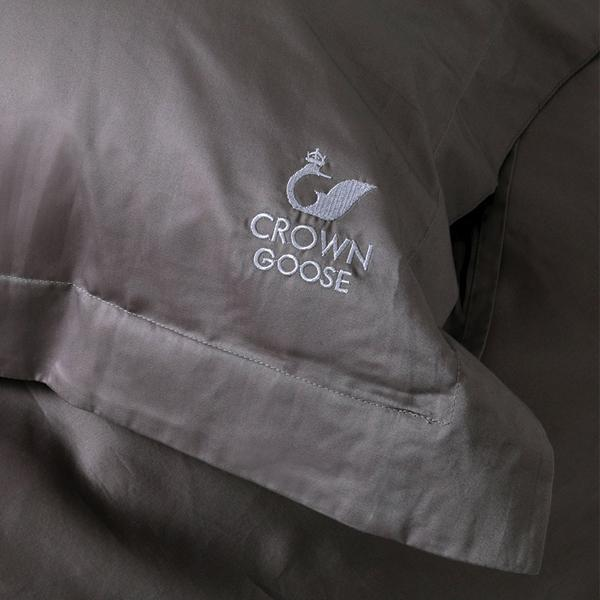 Duvet Cover Set Sopor Collection, Gray (TWIN)