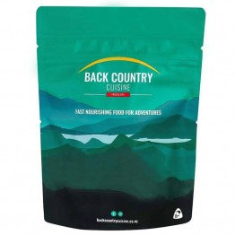 Backcountry Cuisine Freeze Dried Meals, Drinks & Snacks