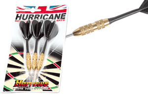 Harrows G232290    ~ HARROWS HURRICANE BRASS DARTS New zealand nz vaughan