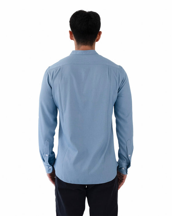 Banded Collar Shirt v2.0