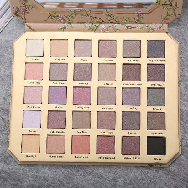 The Fairy Tale Eyeshadow Palette - 30 Colors