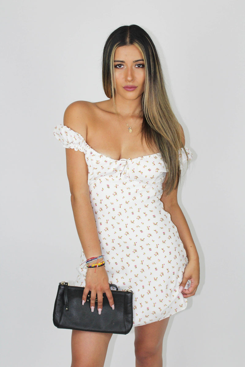Havana Floral Mini Dress