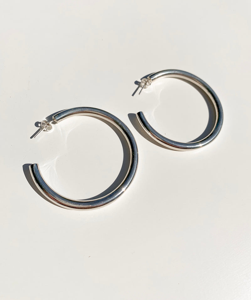 Large Chunky Hoops