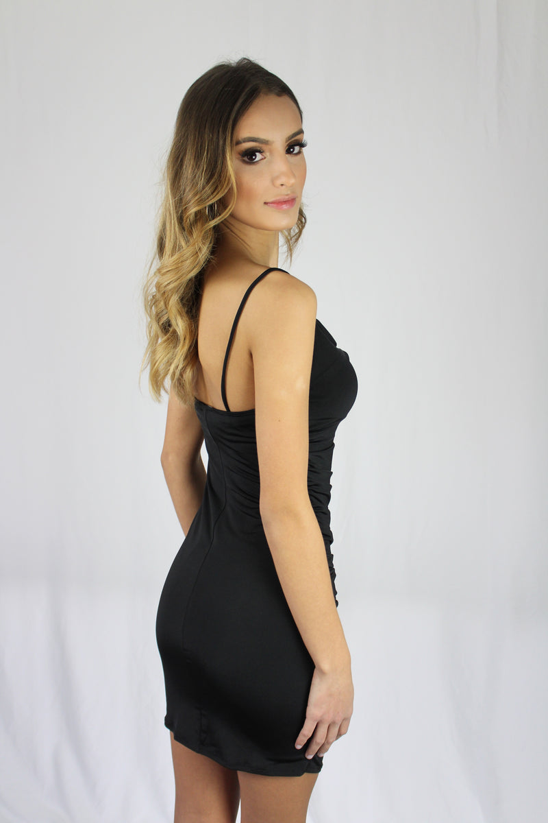 Cami Ruched Bodycon Dress