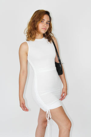 White Desert Bodycon Dress