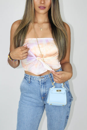 Sunset Muse Bandana Top