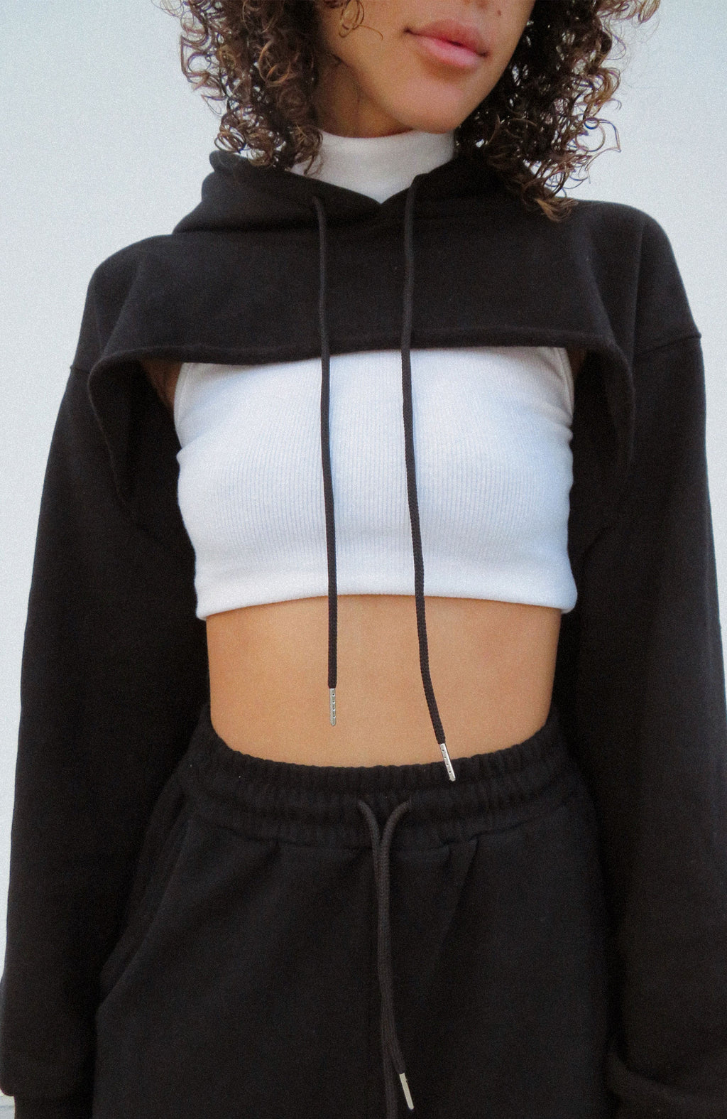Modern Love Story Cropped Sweater