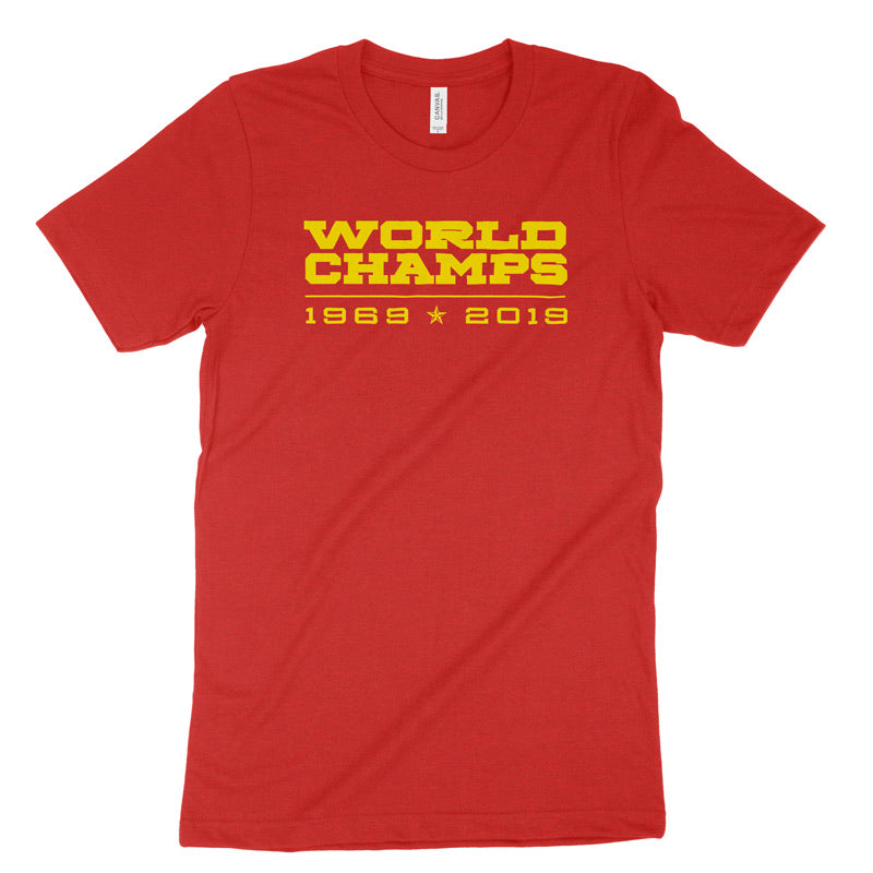 1969 | 2019 World Champs T-Shirt