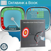 Series 53 Exam Study Book and Online Databank of Final Exams