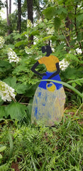 Garden Art (large) - Deborah Shedrick Yellow Basket