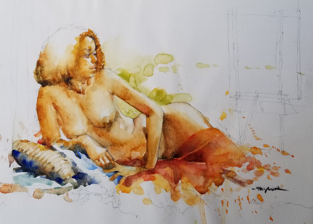 Taylor, James, (Reclining Nude I)