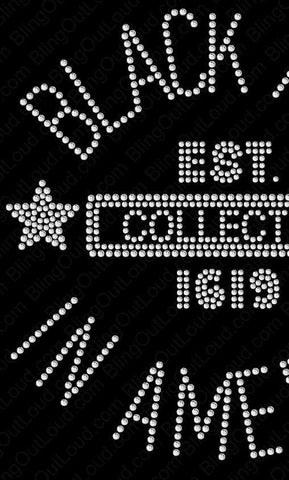 Black Art In America (BAIA Collector Rhinestone T-Shirts)