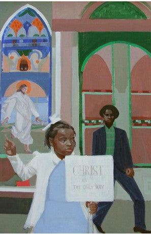 Crichlow, Ernest, (Girl in front of Church)