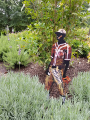Garden Art (large) - Negro League Player