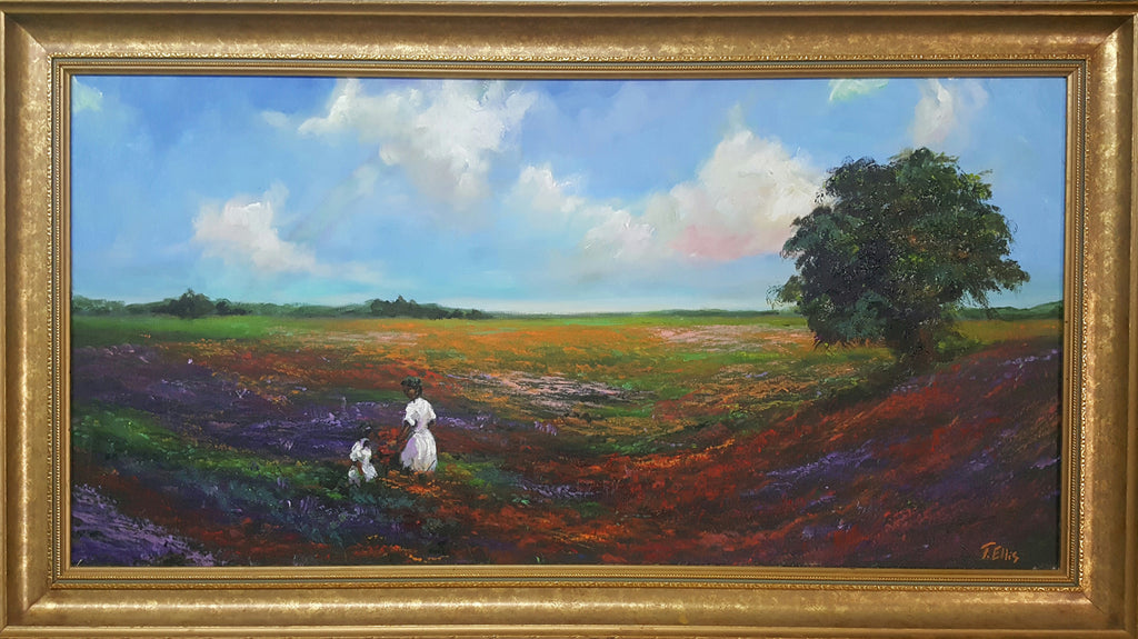 Ellis, Ted, (Gathering Wildflowers)