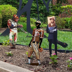 Garden Art - Negro League Player