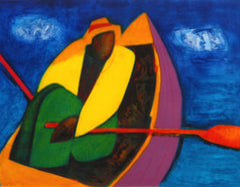 Holston, Joseph, (Man In Boat. 2006)