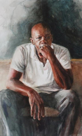 Schultz, Suzy, (Man In Thought II)