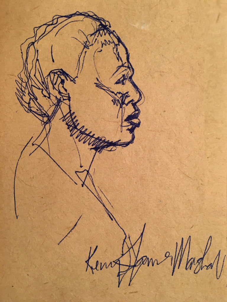 Marshall, Kerry James, (Untitled - Profile of a woman)