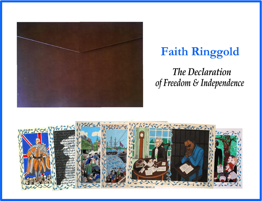 Ringgold, Faith (The Declaration of Freedom and Independence, Portfolio)