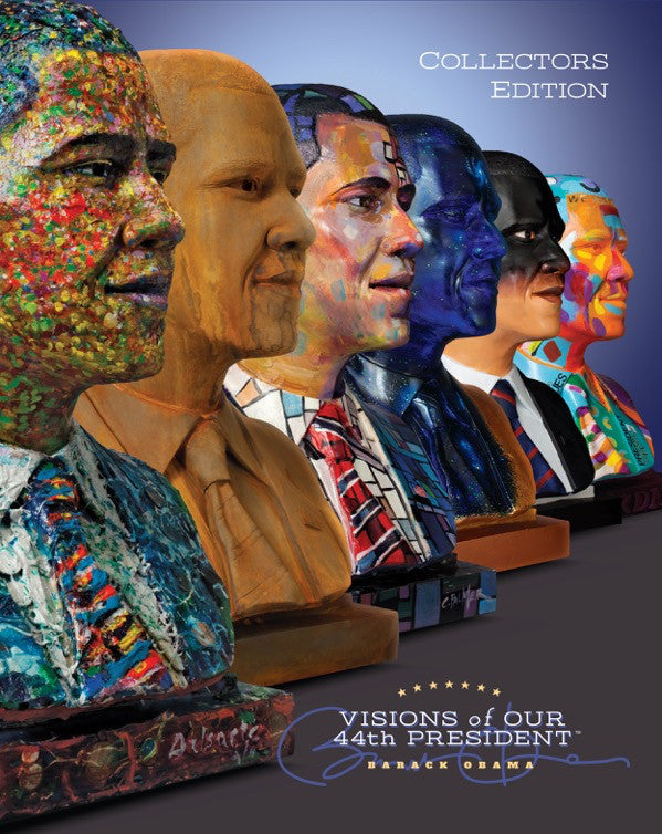 Visions of Our 44th President (Hardcover Book)