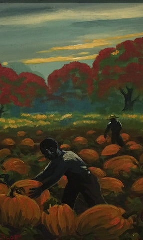 Scott, William Edouard, (Pumpkin Picking)