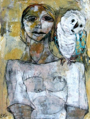 Karni-Bain (BAI), Carl, (Woman With Owl 7)