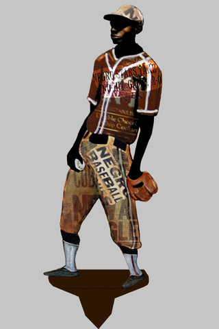 Garden Art (small) - Negro League Player