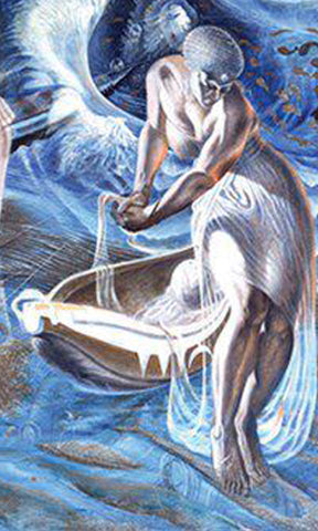 Biggers, John, (Birth From the Sea)