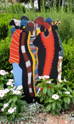 Garden Art (large) - The Ancestors by Frank Frazier