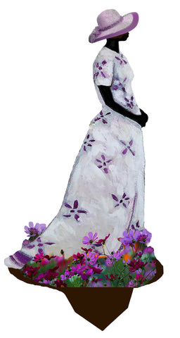 Garden Art (small) - Lavender Dreams