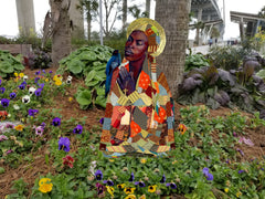 Garden Art (small) - Prayerful by Tamara Natalie Madden