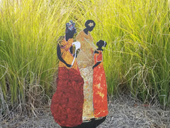 Garden Art (large) - Mothers and Daughters