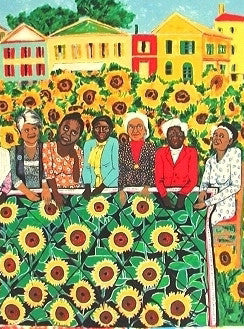 Ringgold, Faith, (The Sunflower Quilting Bee at Arles)