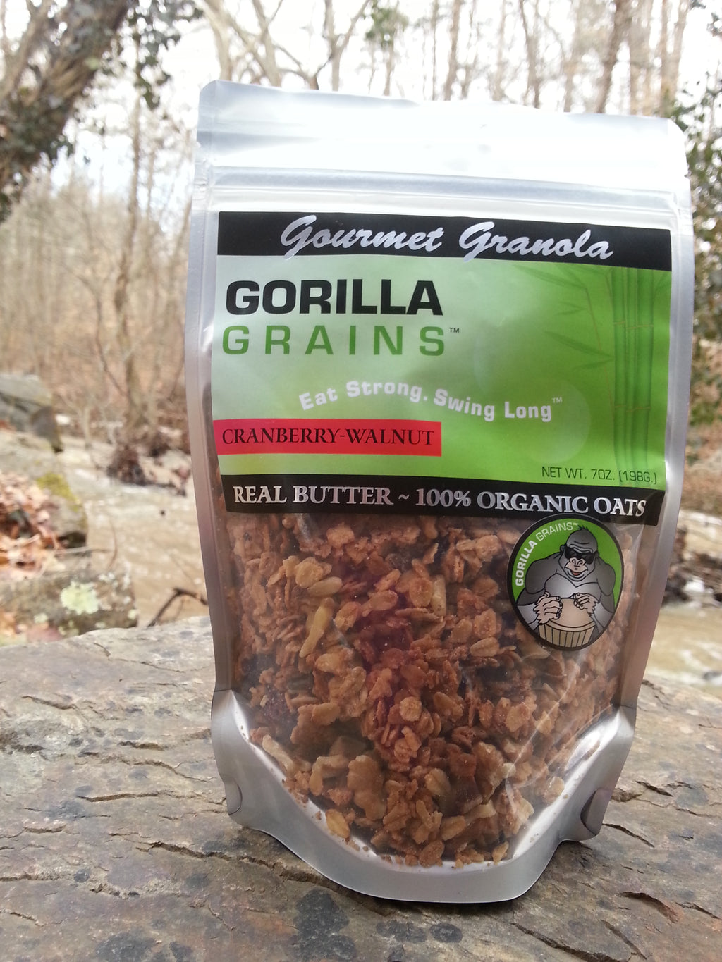 Gorilla Grains - Original with Cranberries and Walnuts