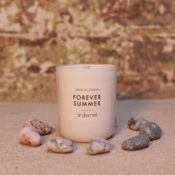 Forever Summer White Candle Medium