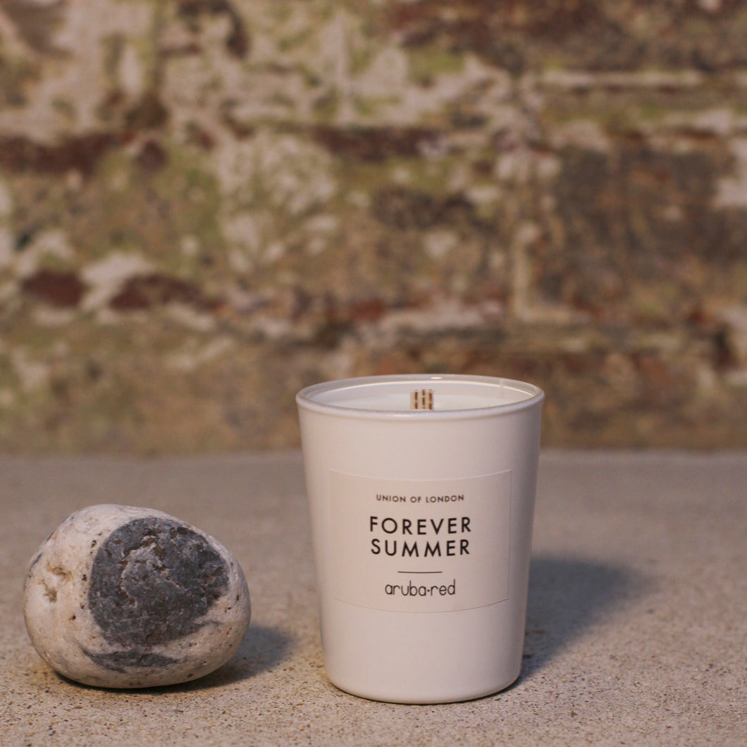 Forever Summer White Candle Small