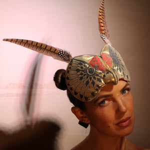 Gold Totem Headdress