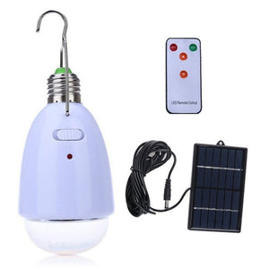 Outdoor/Indoor 20 LED Solar Light  Garden Home Security Lamp Dimmable led solar lamp by remote control Camp Travel lighting